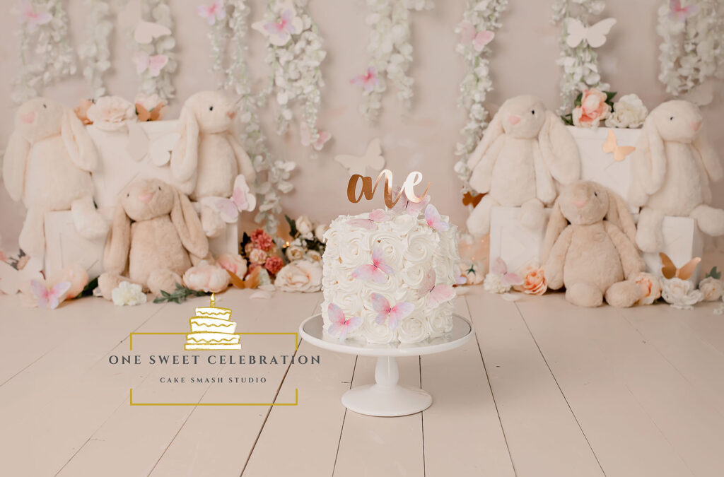 Gold Coast Cake Smash Photographer – Some Bunny is ONE!
